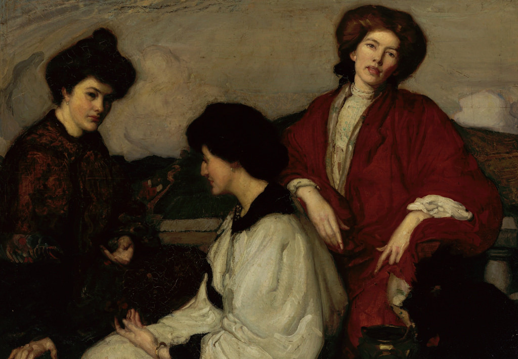 The Three Kimonos, 1905